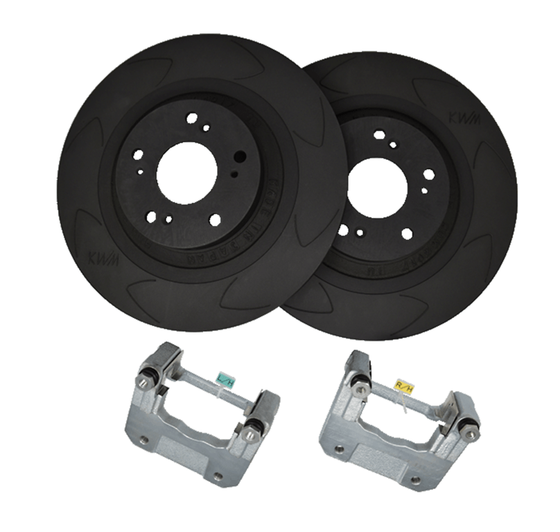 Set: Rear - Rotor Size: 320mm - KBI4001RR