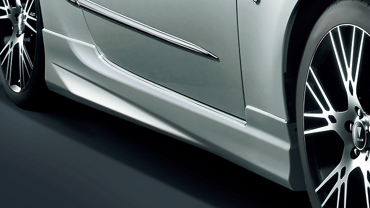 Side Skirts - Construction: PPE - Colour: Azurite Blue: E0 - Colour: Crystal Black Silica: C0 - Colour: Crystal White Pearl: A1 - Colour: Pure Red: D1 - D2611-37010-##