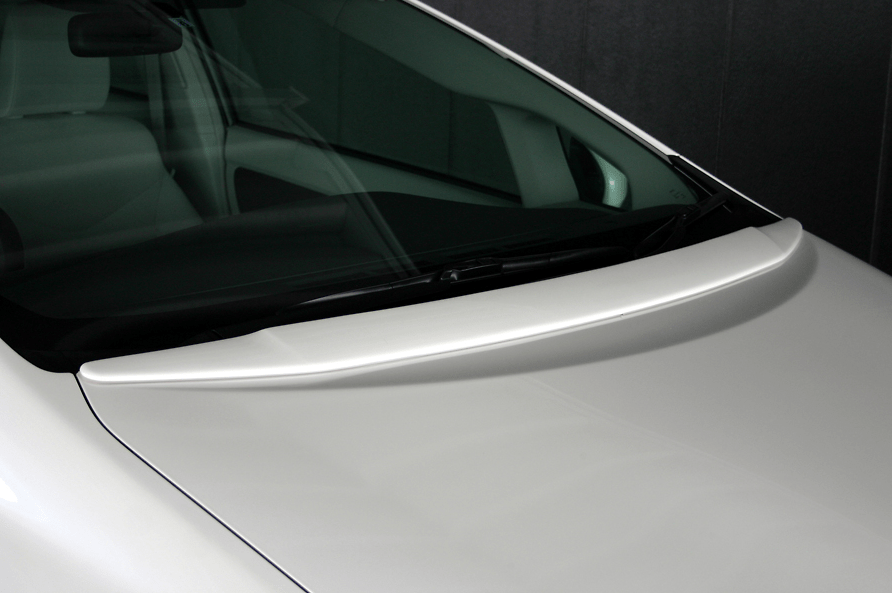 Bonnet Spoiler - Construction: FRP - Colour: Unpainted - ZVW30-BS