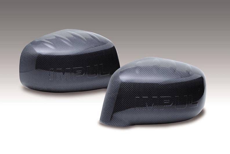 Carbon Mirror Covers - Construction: Carbon - Colour: - - IMPSC11-CMC