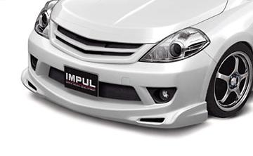 Fromt Bumper - Construction: FRP - Colour: Unpainted - IMPSC11S2-FB