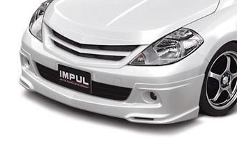 Front Half Spoiler - Construction: FRP - Colour: Unpainted - IMPSC11S1-FHS