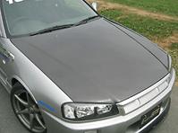 Carbon Bonnet - No Duct - EBR34-CBND