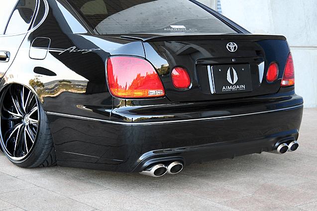 Rear Bumper - Construction: FRP - Colour: Unpainted - AIMJZS16#-RB