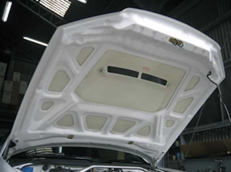 FRP Bonnet With Duct - Material: FRP - EBR34-CBWD