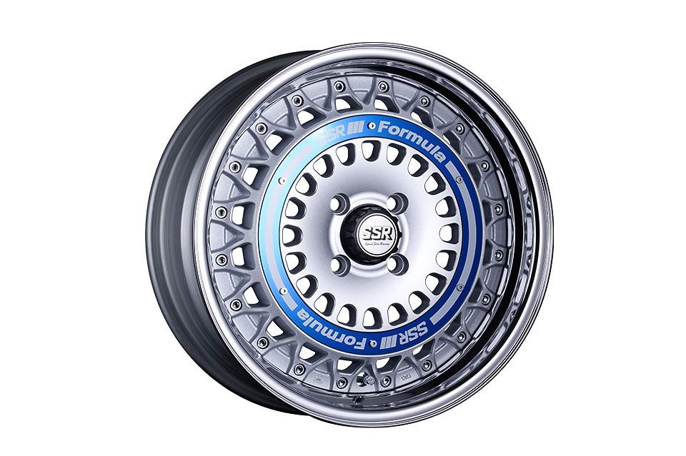 FORMULA SILVER 16inch / Blue Ring
