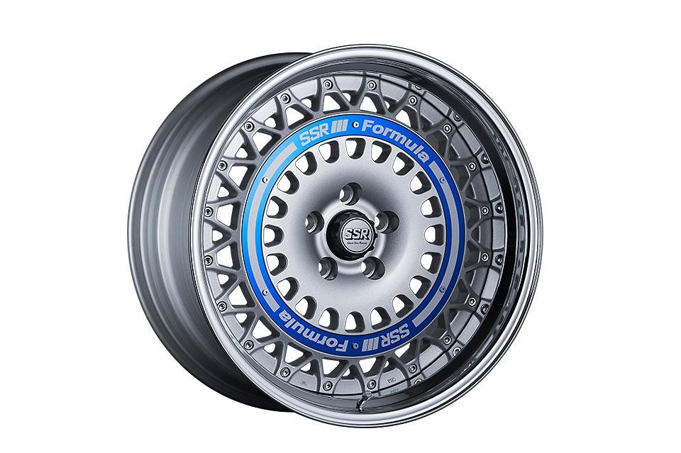 FORMULA SILVER 19inch / Blue Ring