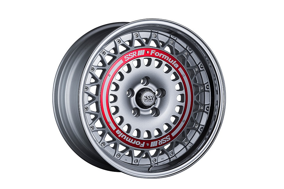FORMULA SILVER 19inch / Red Ring