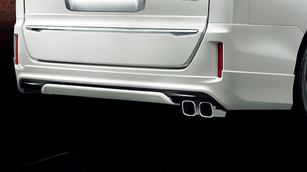 Rear Skirt - Construction: PPE - Colour: Black: C0 - Colour: Luxury White Pearl Crystal Shine Glass Flake: A1 - Colour: White Pearl Crystal Shine: A0 - D2641-43210-XX