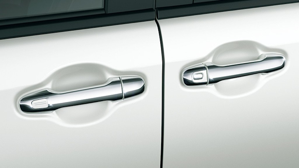 Door Handle Garnish - Construction: ABS - Colour: Chrome - D2748-43910