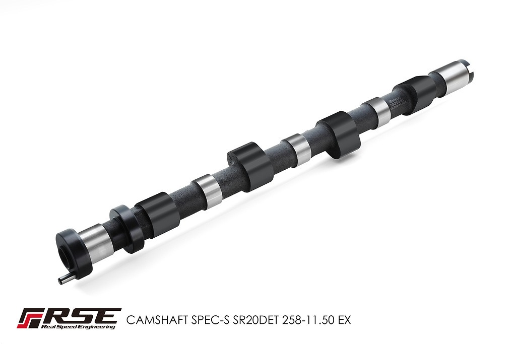 Type: Exhaust - Duration: 258 degrees - Lift: 11.5mm - RA301F-NS08A