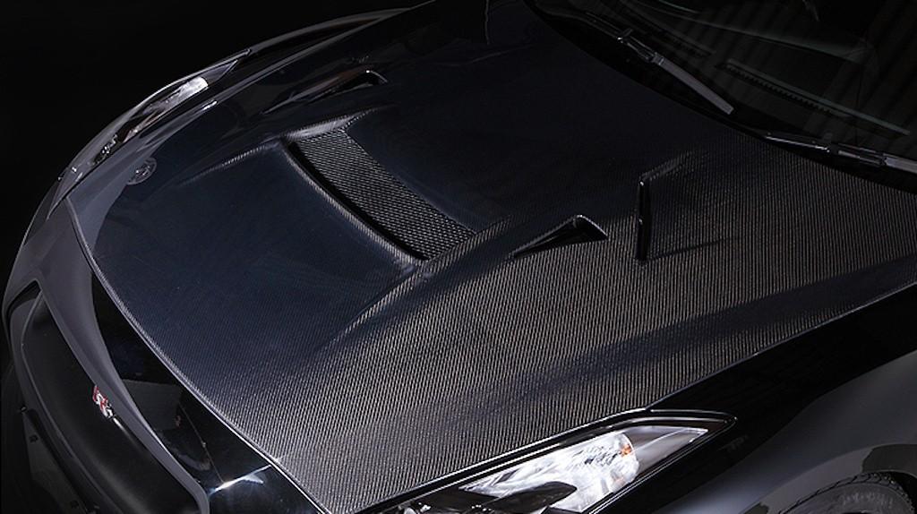 Cooling Bonnet - Construction: Carbon - VBNI-111