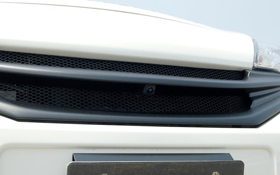 Front Grill - For cars with front mounted cameras - Construction: FRP - Colour: EAK: Beat Nick Gold - Colour: K23: Brilliant Silver - Colour: KAD: Dark Metal Gray - Colour: KH3: Super Black - Colour: LAE: Aurora Move - Colour: NAH: Radiant Tread - Colour: