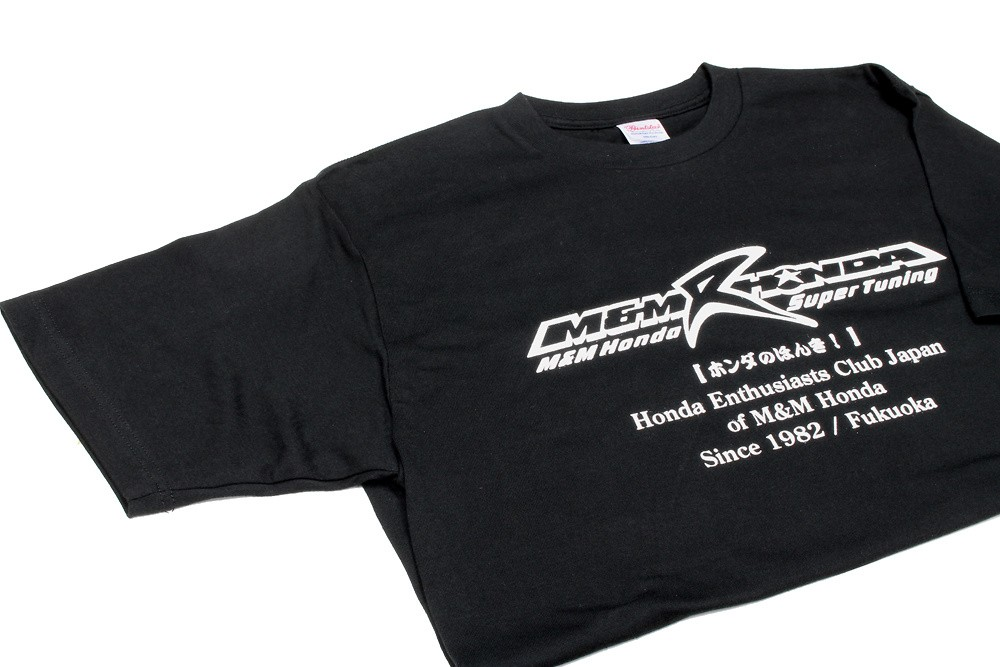 M and M Honda - T-Shirt Black