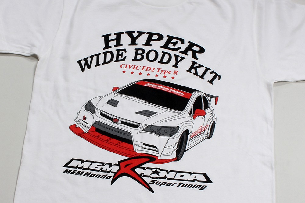 M and M Honda - LIMITED Hyper Wide T-Shirt
