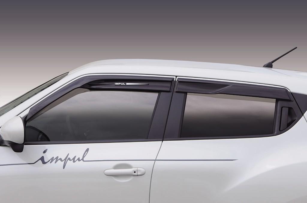 Aerodynamic Visors - IMPULAS-NF15-AV