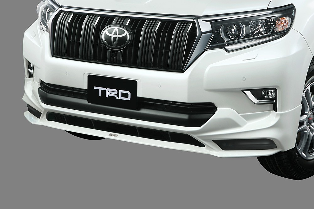 Front Spoiler (without LED) - Construction: Resin (PPE) - Colour: Black (202) C0 - Colour: White Pearl Crystal Shine (070) A0 - MS341-60003-##
