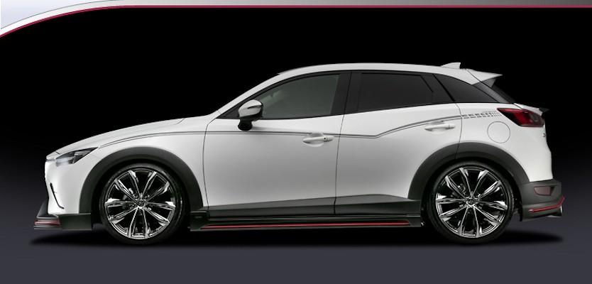 Silk Blaze - Mazda CX-3 Aero Parts