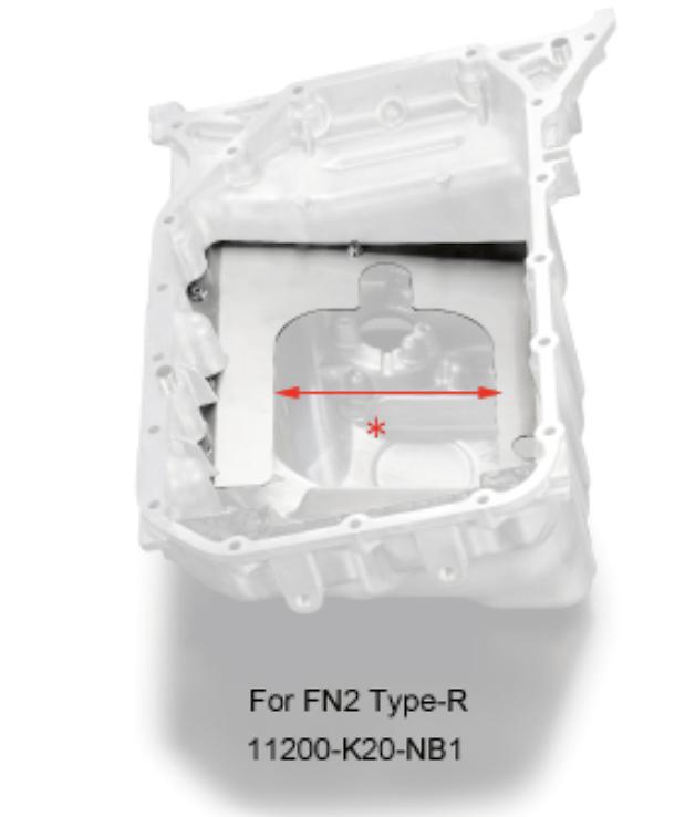 Optional Baffle Plate - 11200-K20-NB1