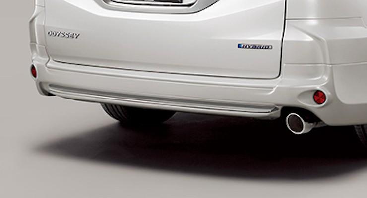 Rear Under Spoiler (for vehicles without parking sensors) - Construction: PPE - Colour: Crystal Black Pearl (CB) - Colour: Platinum White Pearl (PZ)) - Colour: Premium Venus Black Pearl (PV) - 84111-XMLC-K0S0-##