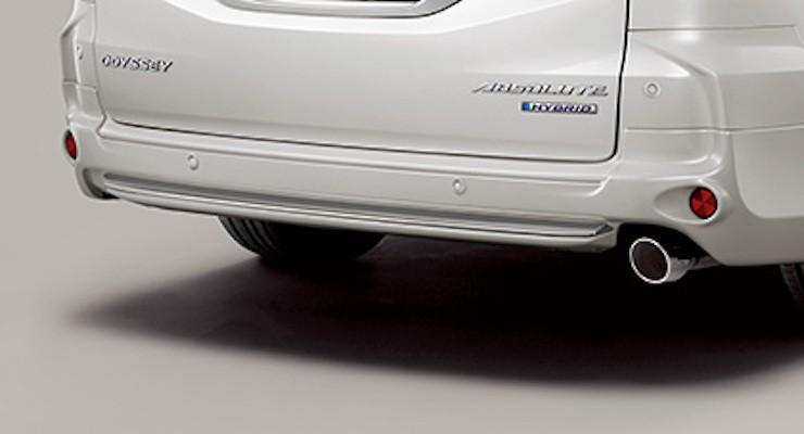 Rear Under Spoiler (for vehicles with parking sensors) - Construction: PPE - Colour: Crystal Black Pearl (CB) - Colour: Platinum White Pearl (PZ)) - Colour: Premium Venus Black Pearl (PV) - 84111-XMLC-K1S0-##