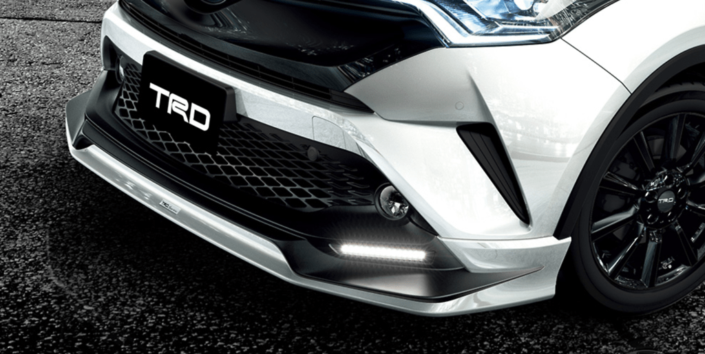 503 Front Spoiler (with LED) - Colour: White Pearl Crystal Shine (070) - MS341-10001-A0