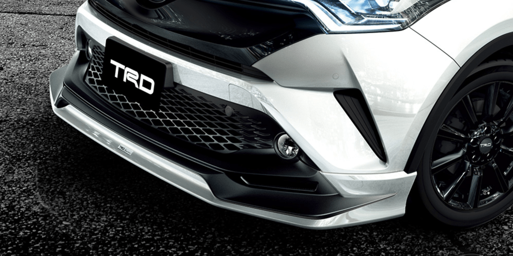 504 Front Spoiler (without LED) - Colour: White Pearl Crystal Shine (070) - MS341-10003-A0