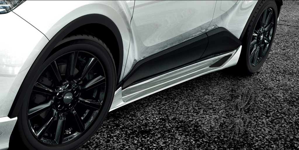 505 Side Skirt - Colour: White Pearl Crystal Shine (070) - MS344-10001-A0
