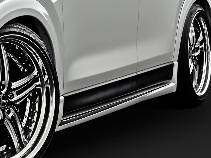 Side Steps - Two-Tone - Construction: FRP - Colour: Jet Black Mica (41W) - Colour: Machine Gray Premium Metallic (46G) - Colour: Matte Black - Colour: Snowflake White Pearl Mica (25D) - Colour: Sonic Silver Metallic (45P) - Colour: Soul Red Crystal Metall