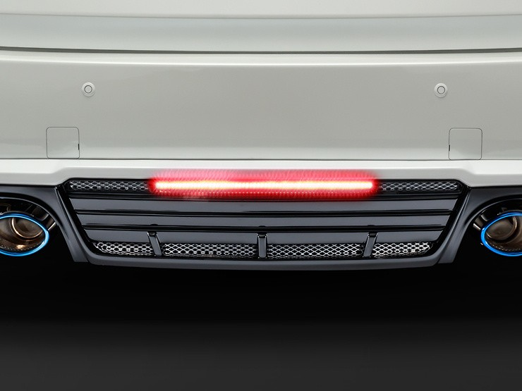 LED Low Mount Lamp - Construction: LED - Colour: Red - ADM-BELTA-CX5-LML