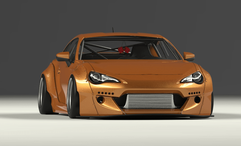 Rocket Bunny - Toyota 86 / Subaru BRZ Wide Body Kit Ver.2