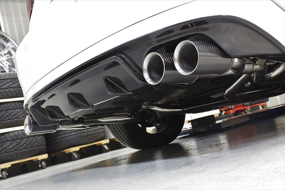 Rear Under Spoiler Type II - Construction: FRP/Carbon - Colour: Unpainted - AIMVIPEXE-IS-RUSTIIC