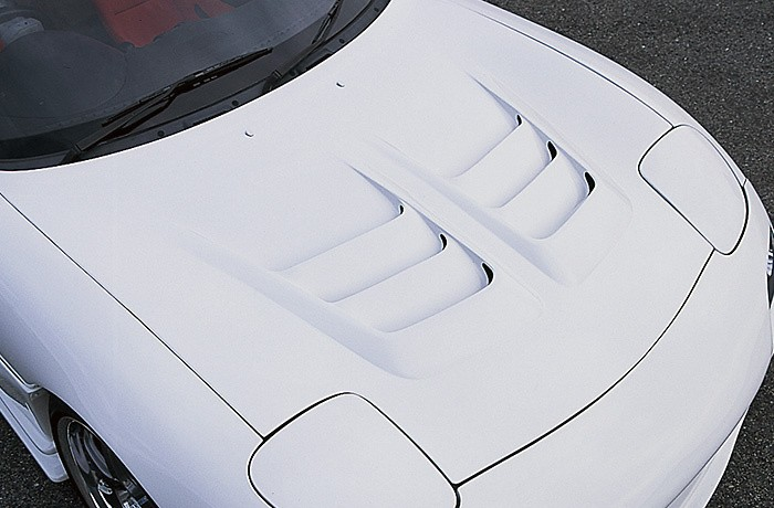 Aero Bonnet - Construction: FRP - Colour: Unpainted - NSPEC-FD3S-ABF