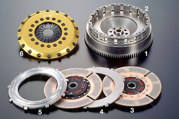 Clutch: TR2CD - Part Name: Flywheel - OS-TR2CD-FLY