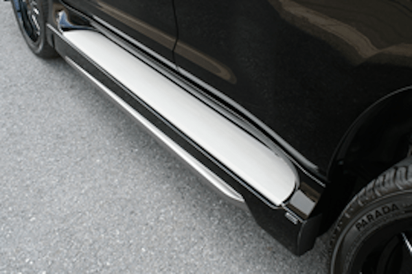 Side Step Extensions (for vehicles with OEM Side Steps only) - Construction: FRP - Colour: Unpainted - ELF-LC150E-SSE