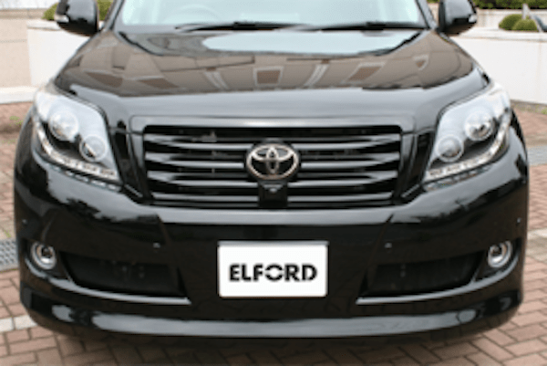 Front Grill for vehicles with Front Mount Camera (2 Piece) - Construction: FRP - Colour: Unpainted - ELF-LC150E-FGWC