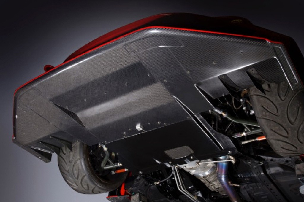 Front Diffuser System 1 (exclusive for Kamikaze Front Bumper) - Construction: VSDC - VATO-073