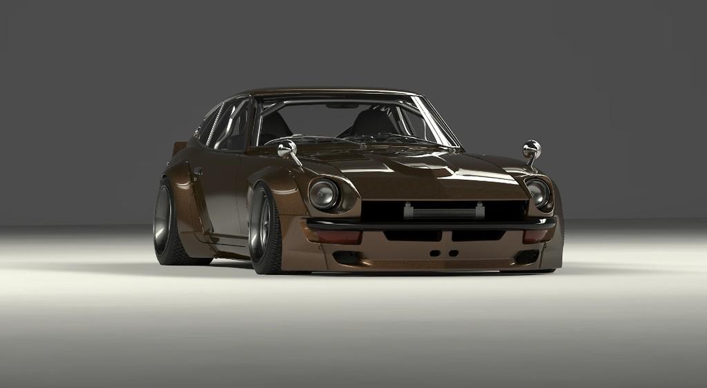 Pandem - Nissan Fairlady Z / 240Z Wide Body Kit