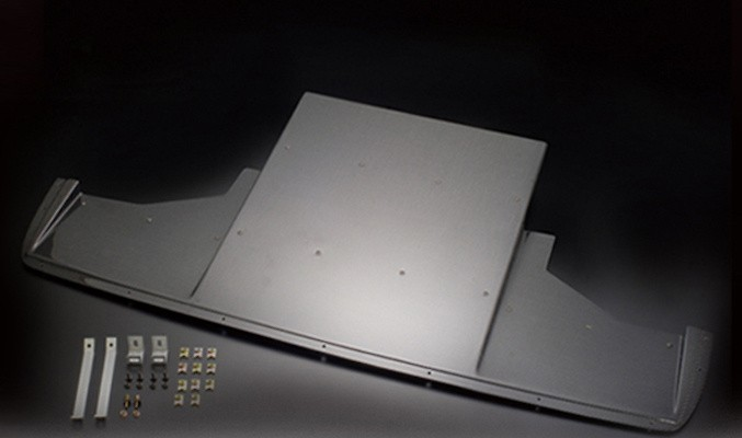 Front Under Diffuser - Construction: FRP - Colour: Unpainted - VAB-3604
