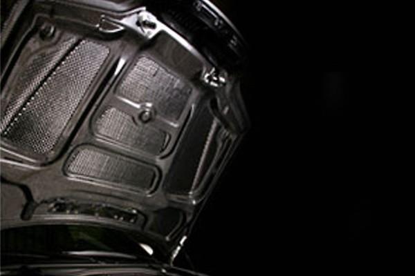 Light Weight Bonnet (Normal Shape) - Construction: Carbon - Plain Weave - VBB-9207