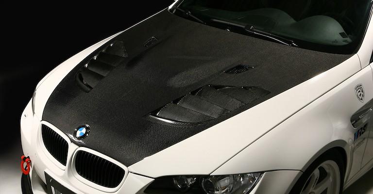 Cooling Bonnet - Construction: Carbon - Plain Weave - VBB-9209