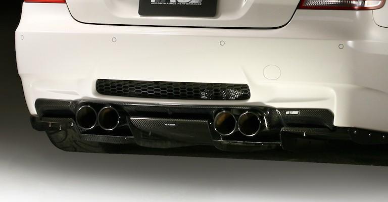 Rear Diffuser System-1 - Construction: Carbon - Plain Weave - VAB-9214