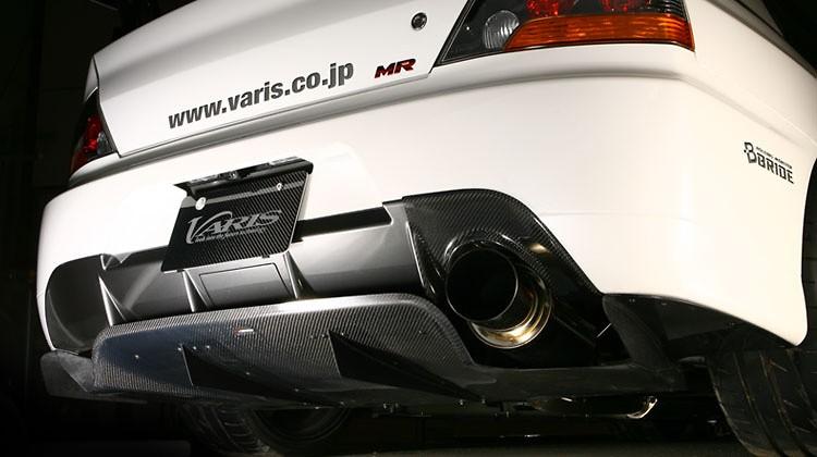 Rear Diffuser Ver.2 - Construction: Carbon - VAMI-097