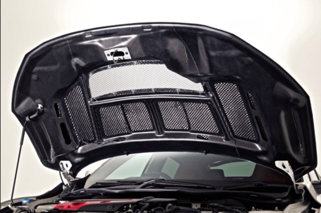 Cooling Bonnet Hood - Construction: Carbon - VBHO105C