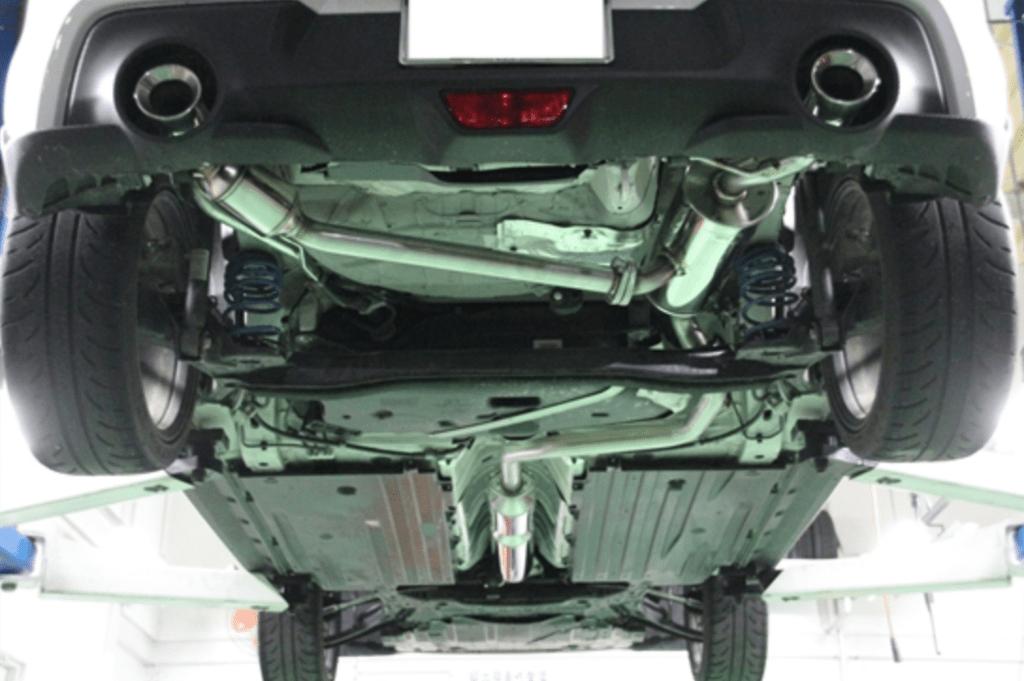 Suzuki Works Kurume - Forty-Six Dual Muffler