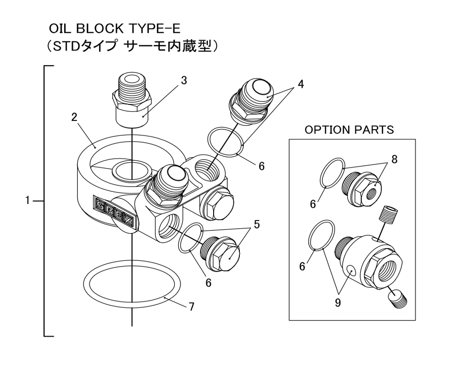 Oil Block Type-E