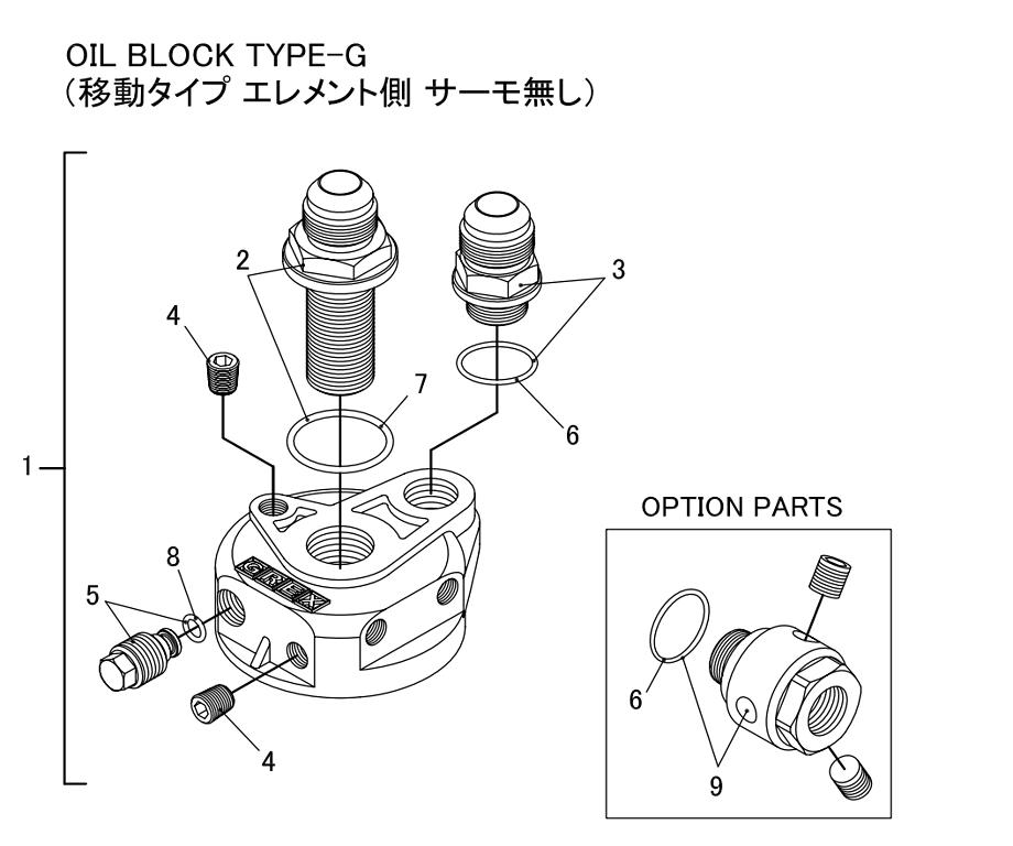 Oil Block Type-G