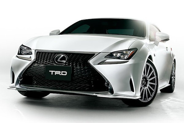 TRD - Lexus RC F-Sport Parts