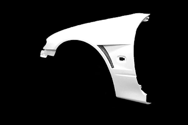 Front Fender Set - Material: FRP - Width: +20mm - S15-FF