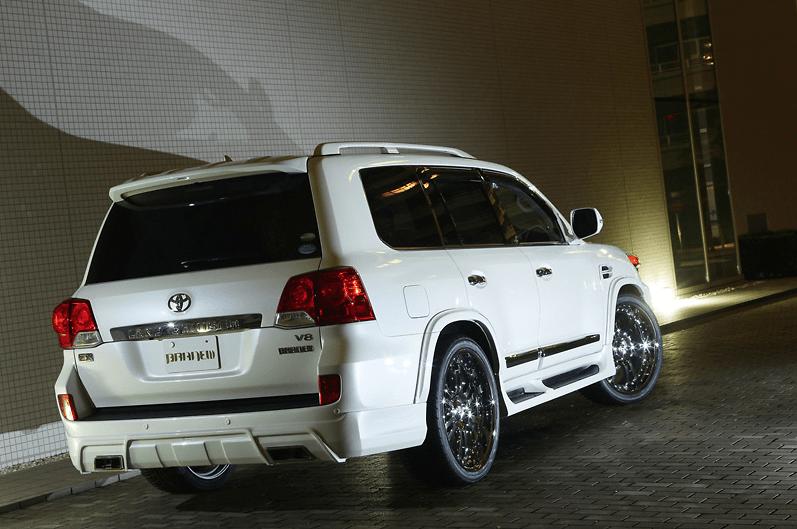 Branew - Toyota Land Cruiser 200 Aero Parts